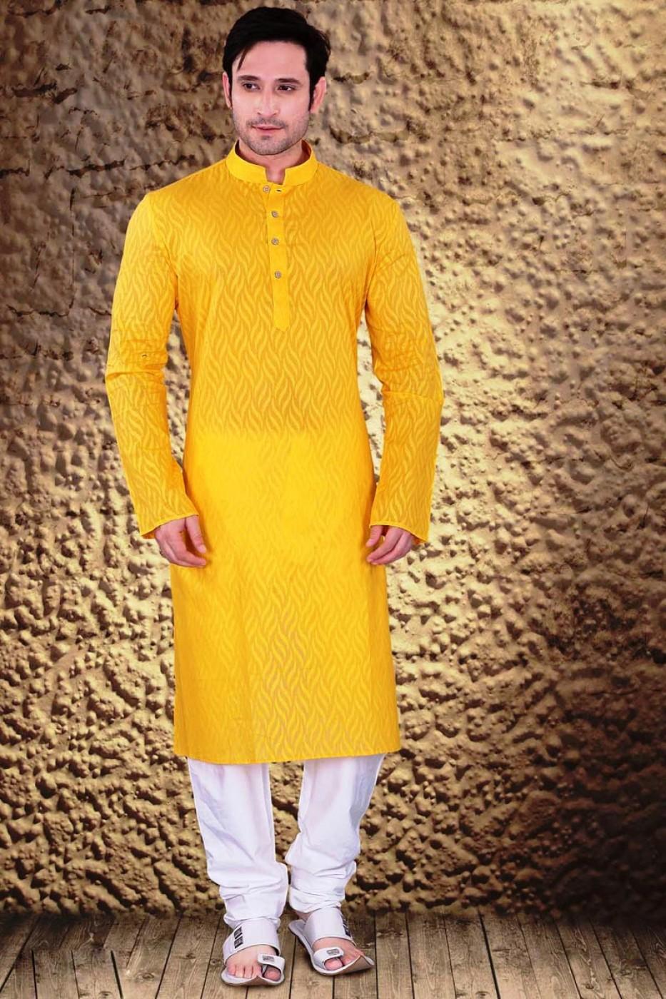Groom Dress For Haldi Function
