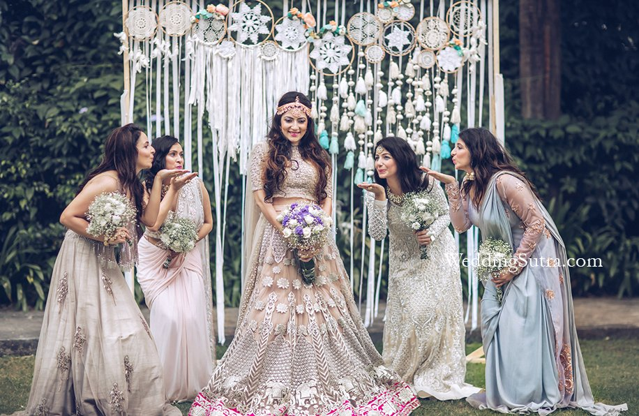 Entry With Girl Gang at Your Wedding