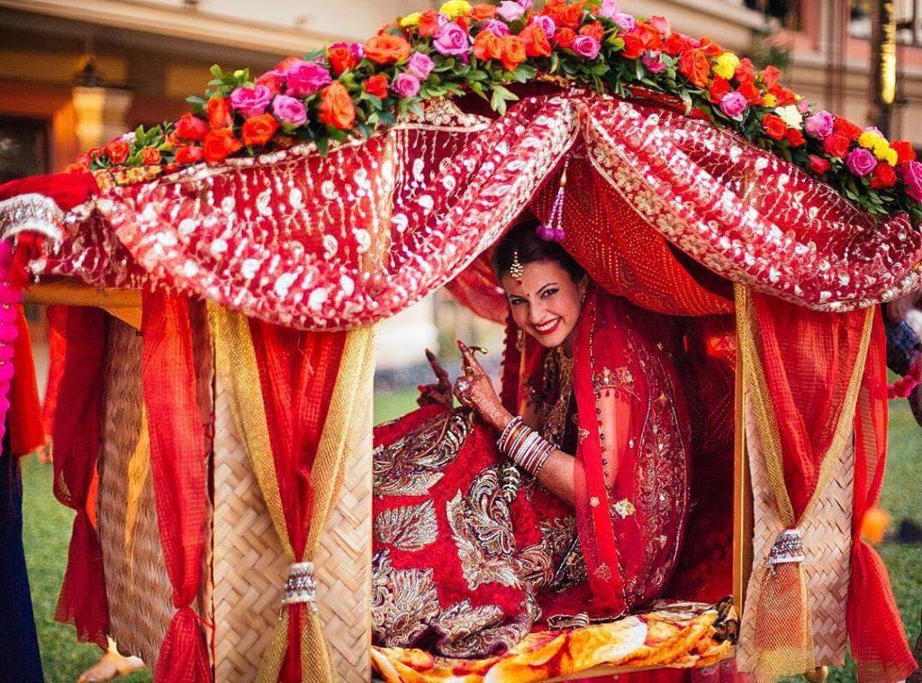 Bridal Entry In Palki
