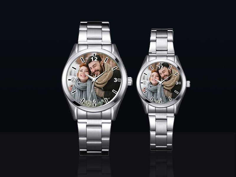 Wrist Watch with Your Photo Dial