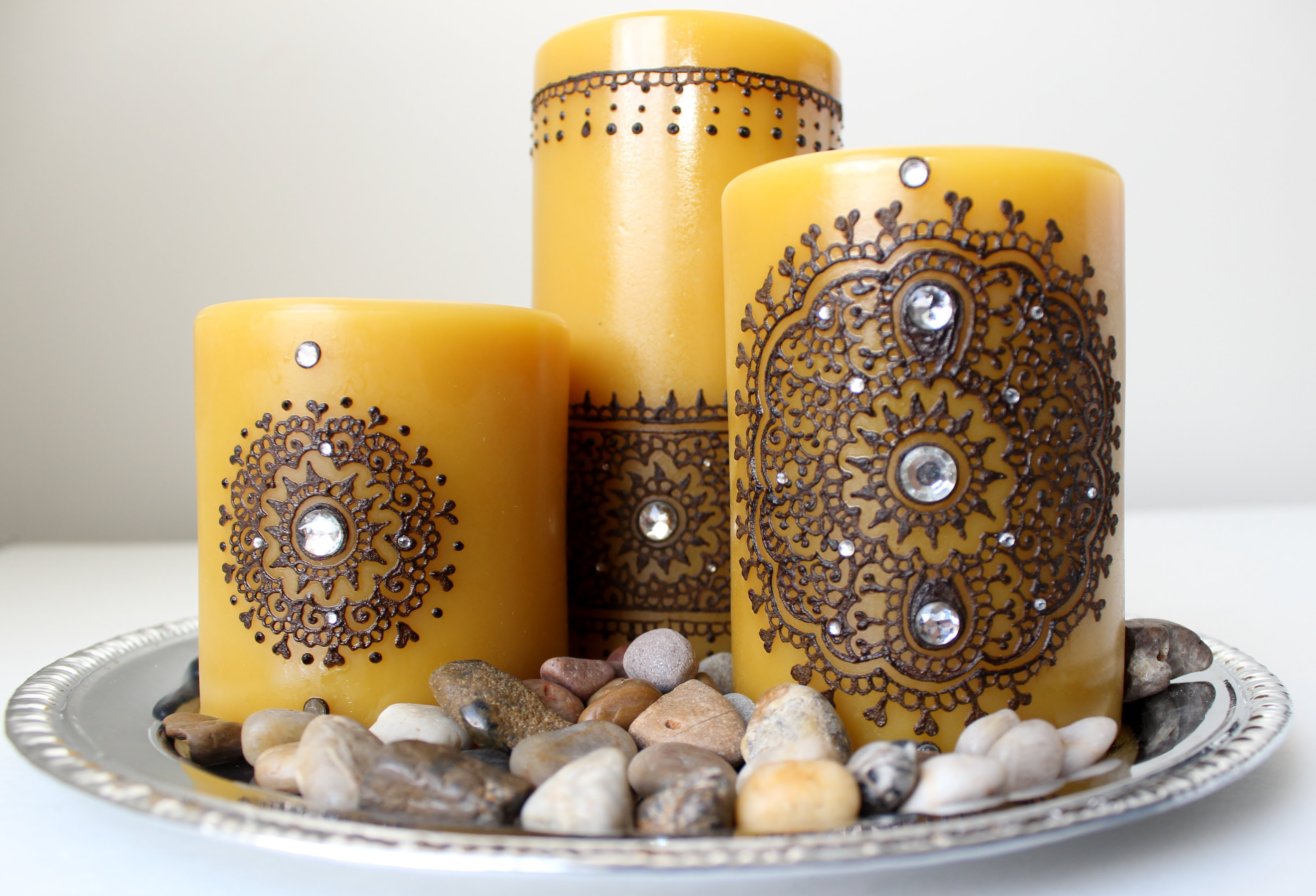 Handmade Heena Candles Gift Ideas