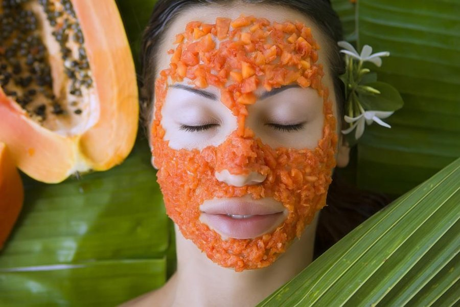 No more Dead Skin on Face, Remove it with Papaya Mask