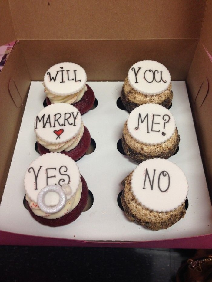 Surprising Cookie With Your Proposal Note