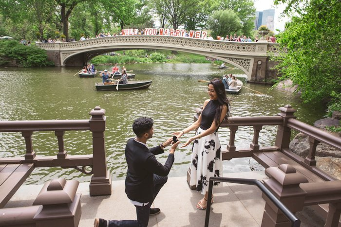 marriage proposal ideas In a Park