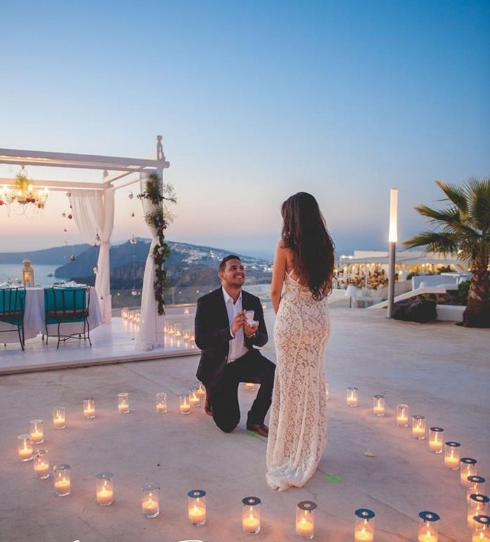 best proposal idea trip abroad