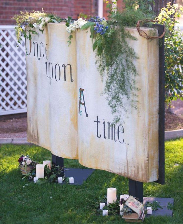 books walls photobooth ideas