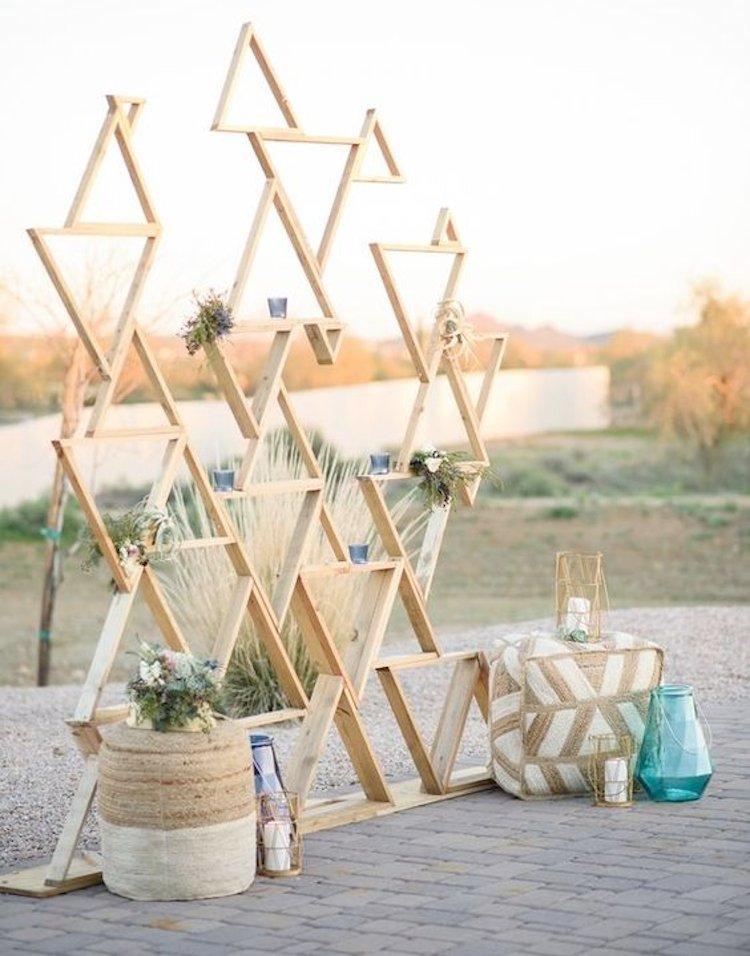 simple wedding photo booth ideas