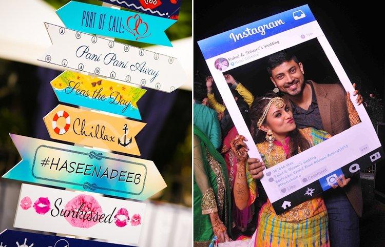 social media photobooth ideas