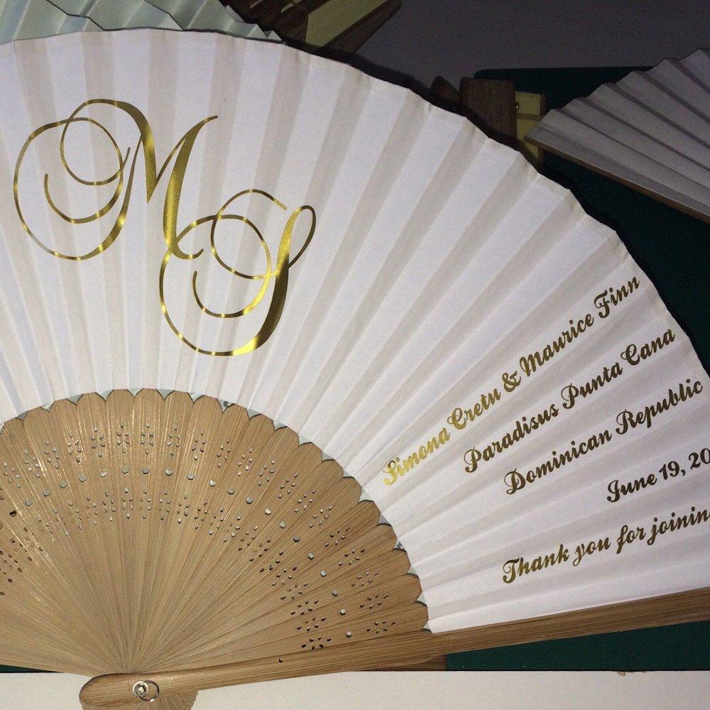 Program Printed Paper Fans