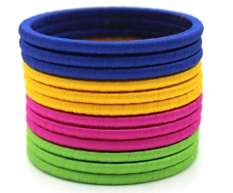 plain thread bangles
