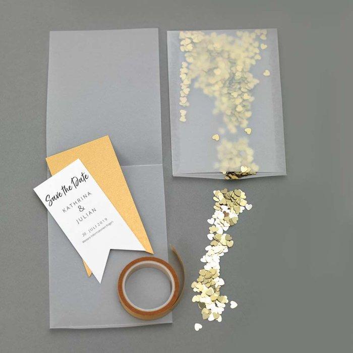 Wedding save-the-date Invitation Card
