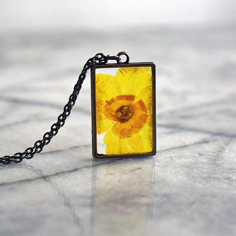 Birth Flower Necklace