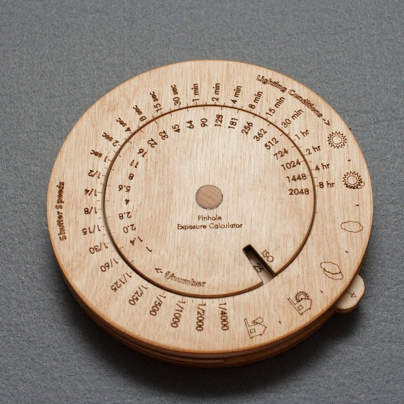 Wooden Photography Exposure Meter