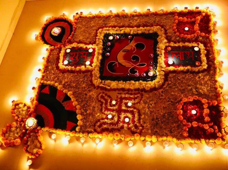 wedding rangoli designs