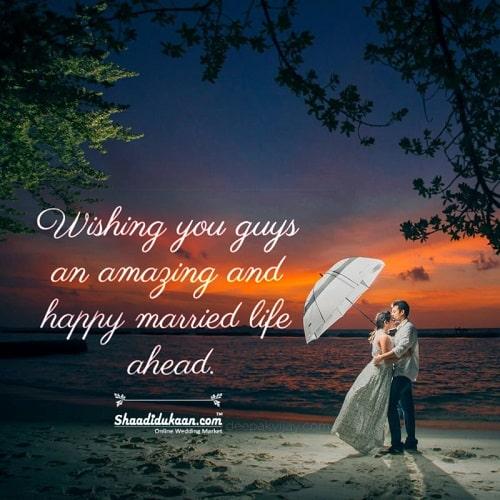 Formal Wedding Wishes