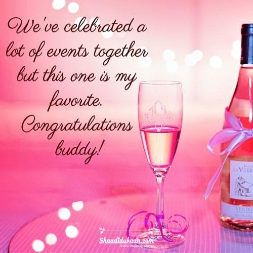Wedding Congratulation Quotes for a Friend