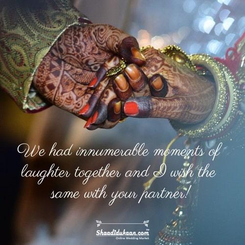 Wedding Congratulation Wishes for Friend