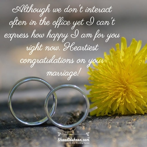 Wedding Quotes for a Coworker