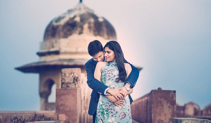 jaigaarh fort pre-wedding shoot