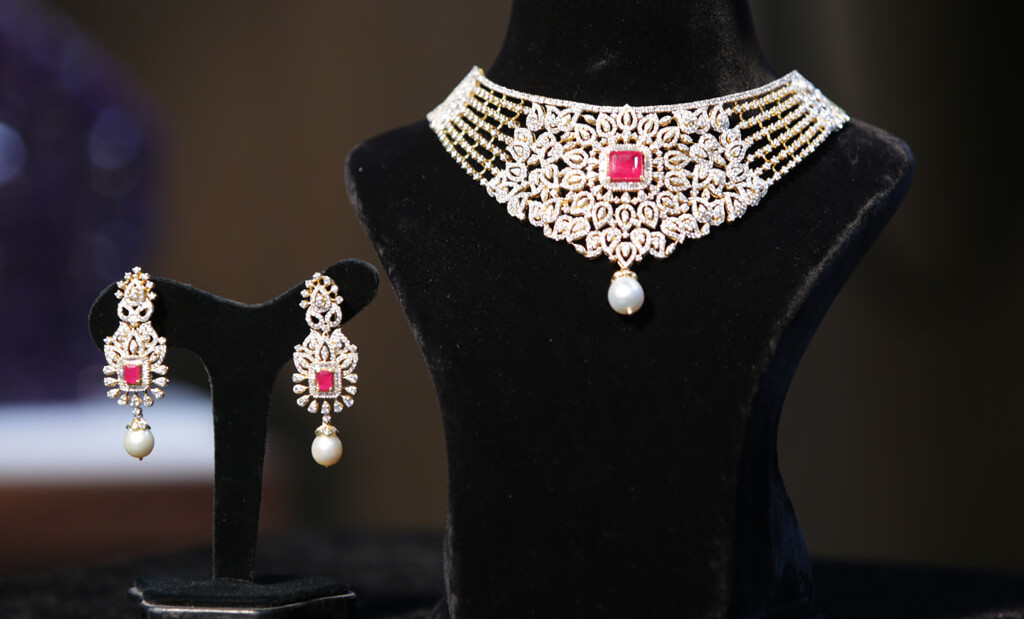silver jewellery for wedding