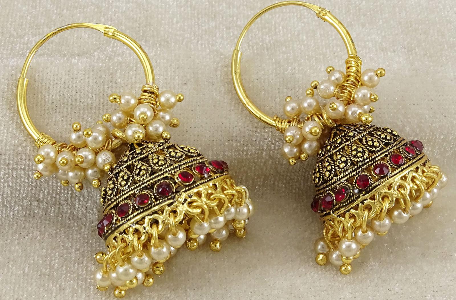 Hoop Earrings For Brides