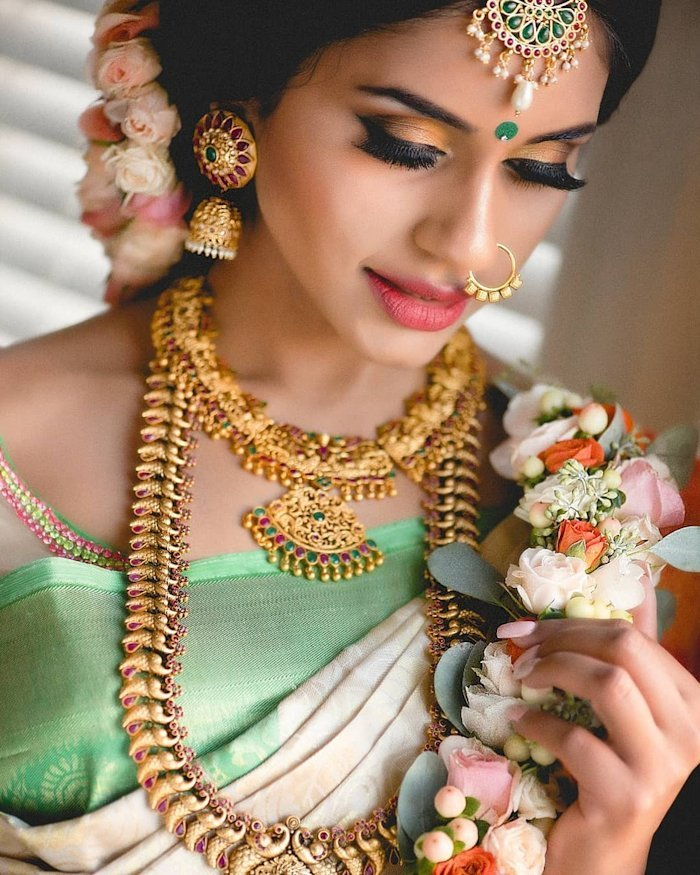 artificial bridal kundan earrings