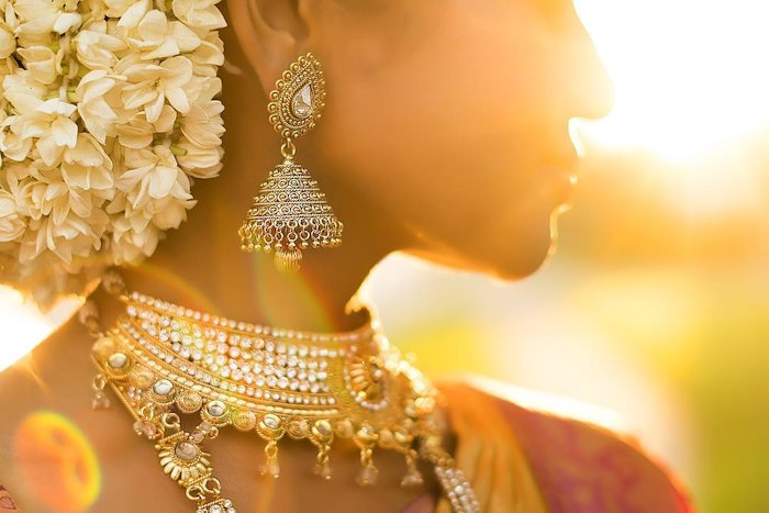 bridal earrings for wedding function