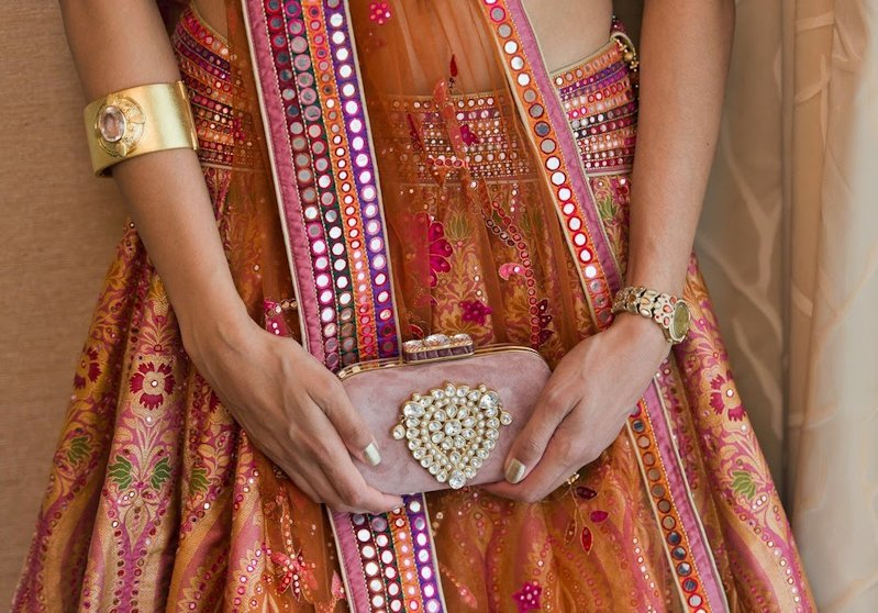 bridal purse - indian wedding accessories