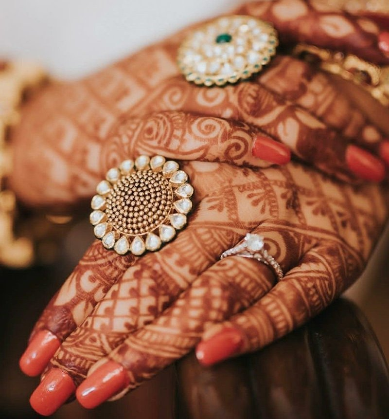 rings - indian bridal accessories