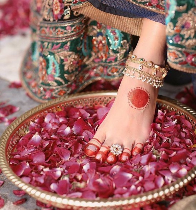 toe rings - indian bridal accessories