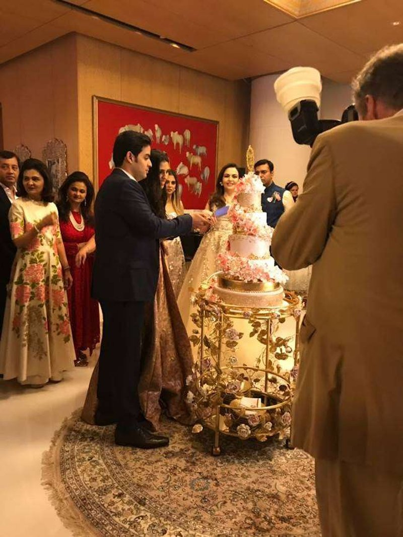 Akash Ambani & Shloka Mehta wedding