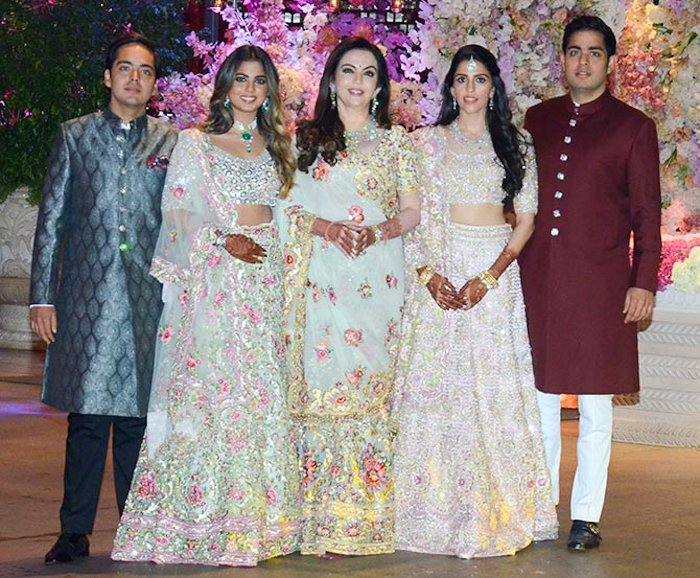 marriage ceremony of akash ambani