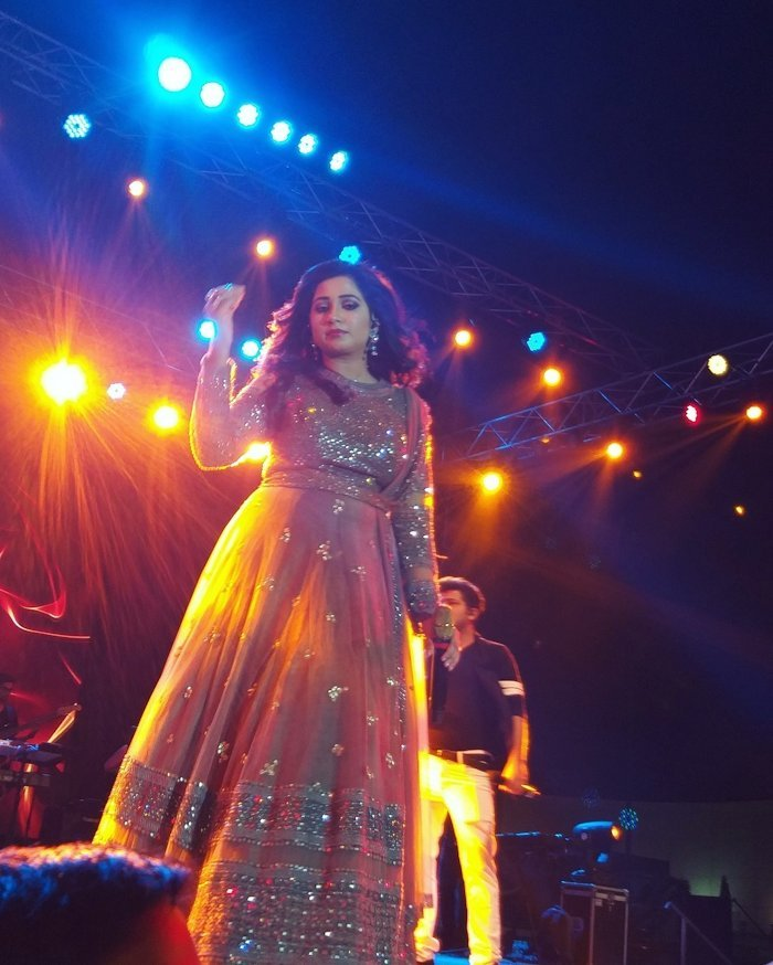 Bollywood singer Shreya Ghosal.