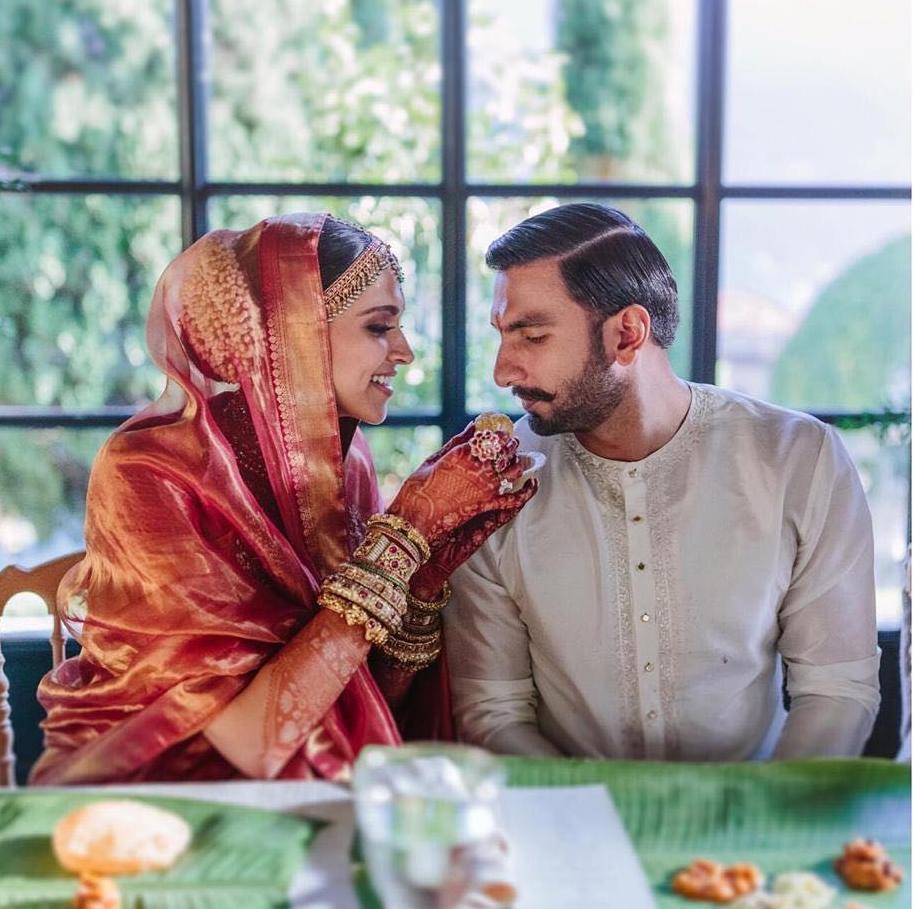 Deepika Ranveer Photos of Wedding