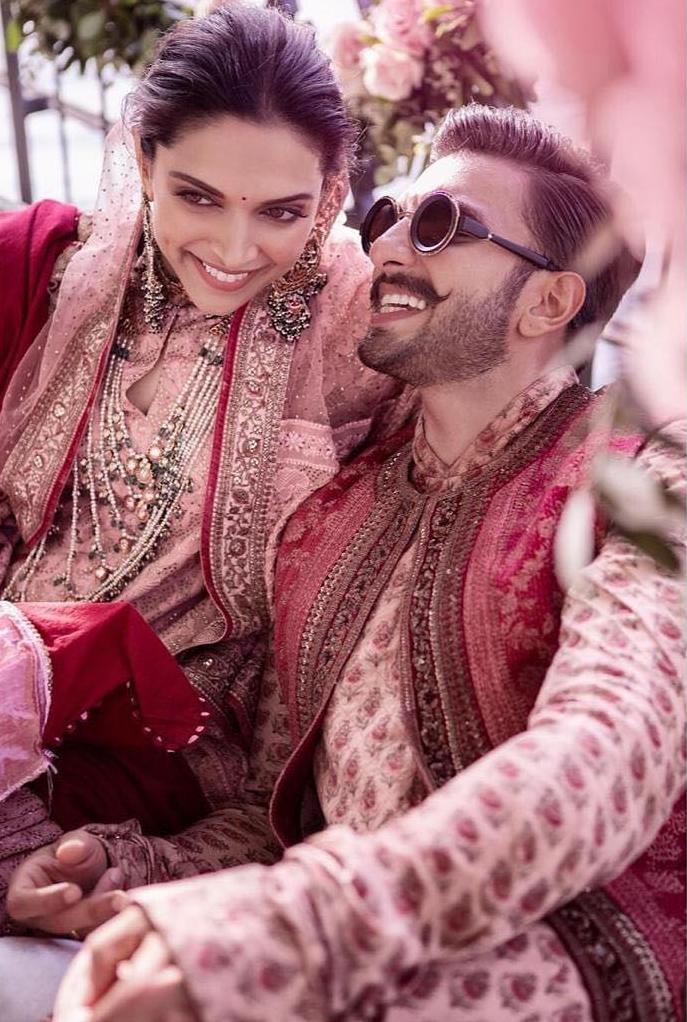 Ranveer Deepika Mehandi ceremony Photos