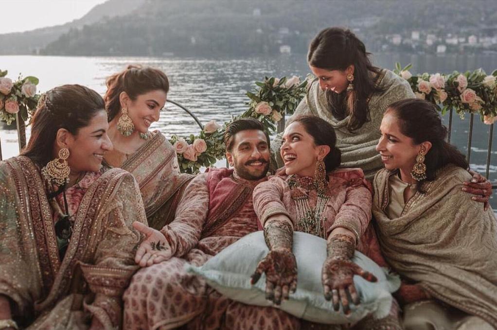 Ranveer Deepika Mehandi ceremony images