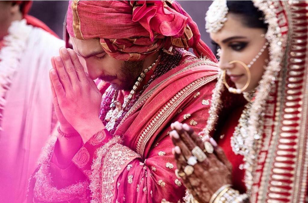 Deepika Ranveer wedding images