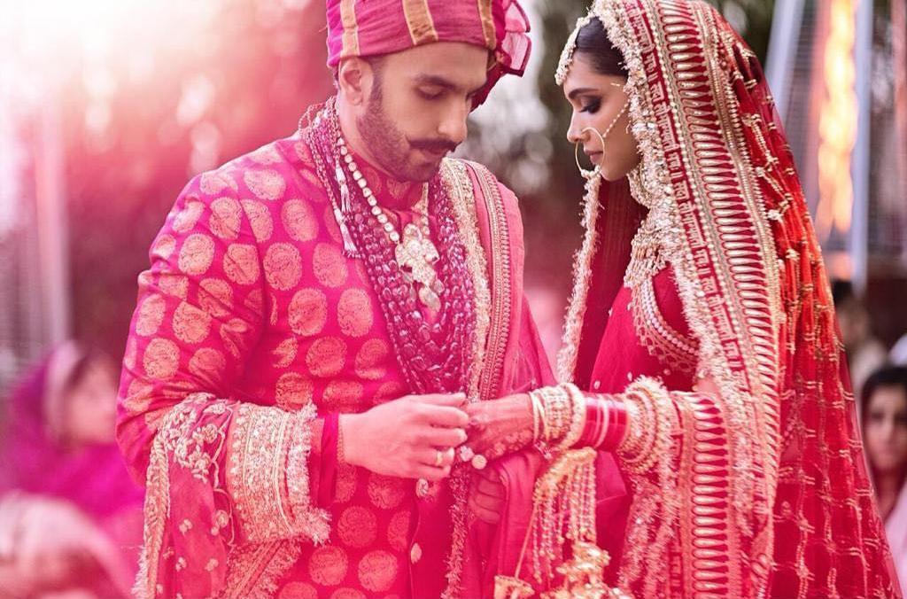 Wedding Photos of Ranveer and Deepika