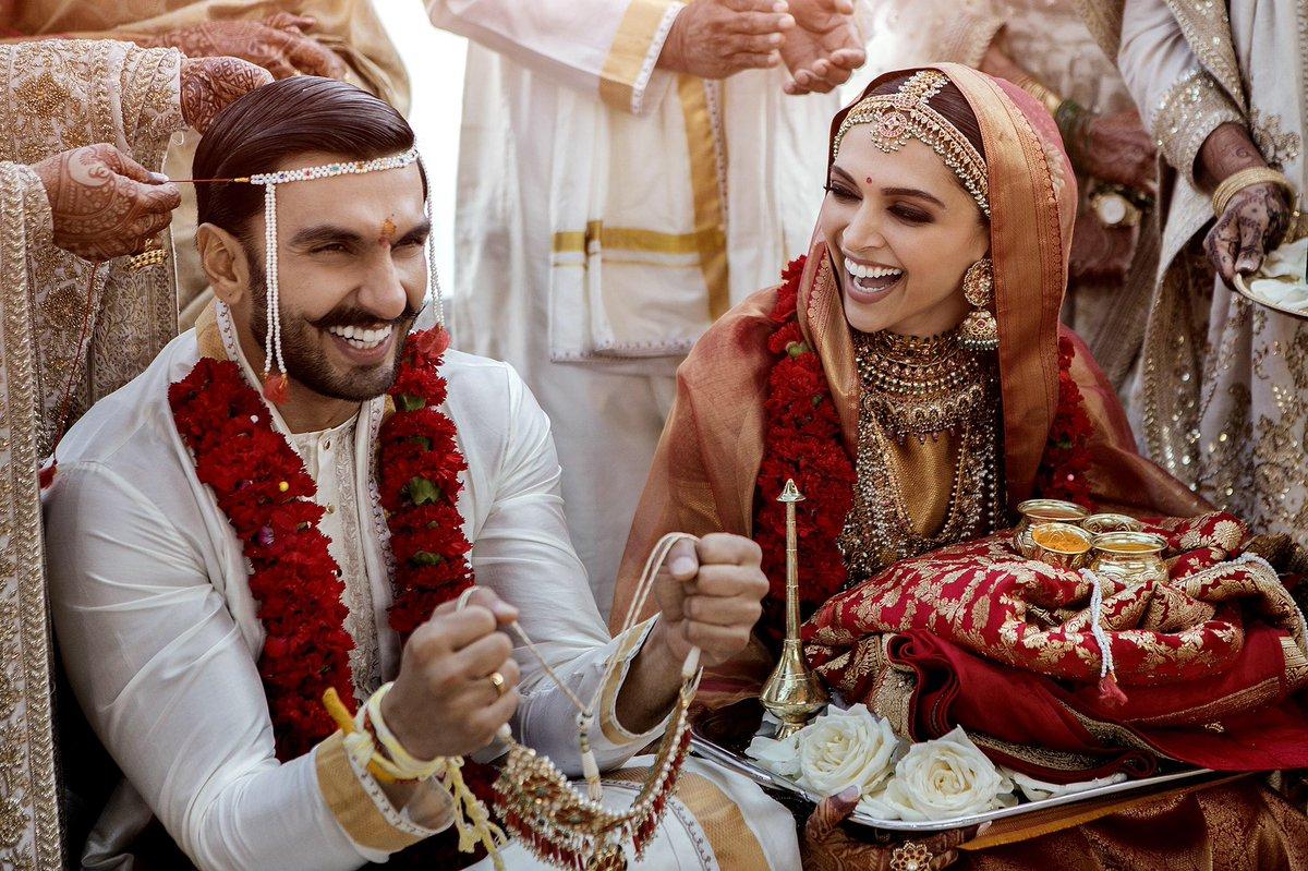 Ranveer and Deepika Wedding Photos