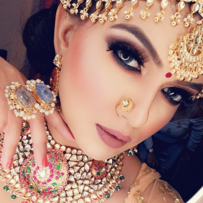 bridal makeup trends 2018