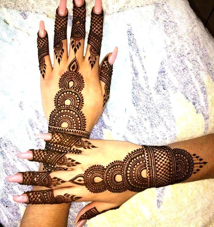 Top 111+ Latest \u0026 Simple Arabic Mehndi Designs for Hands \u0026 Legs