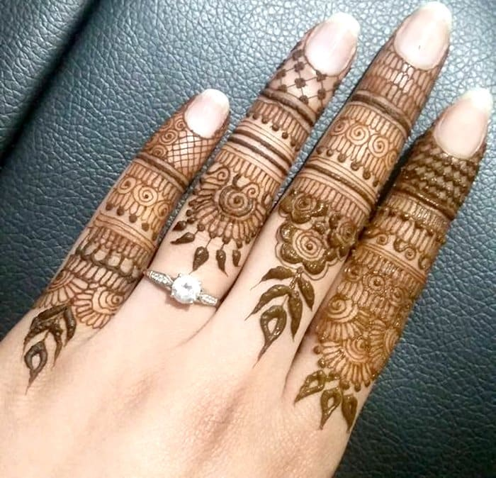 Finger Henna Designs Mehndi Designs For: Top 111+ Latest & Simple Arabic Mehndi Designs For Hands
