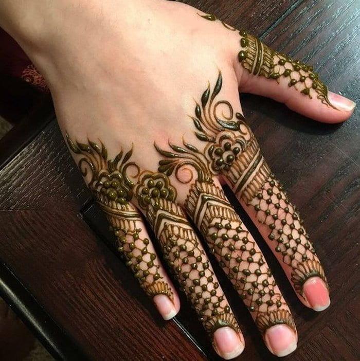 Full fingers pattern