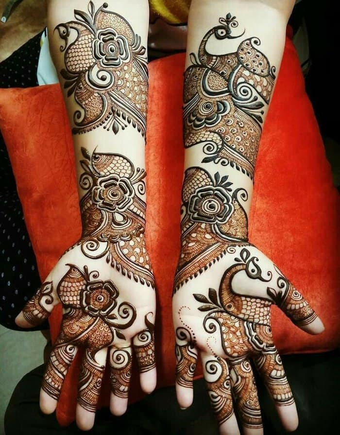 Top 111 Latest Simple Arabic Mehndi Designs For Hands Legs