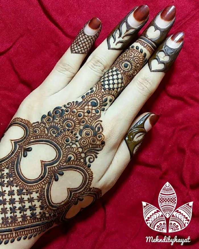 7791cb222 Top 111+ Simple & Latest Arabic Mehndi Designs for Hands & Legs