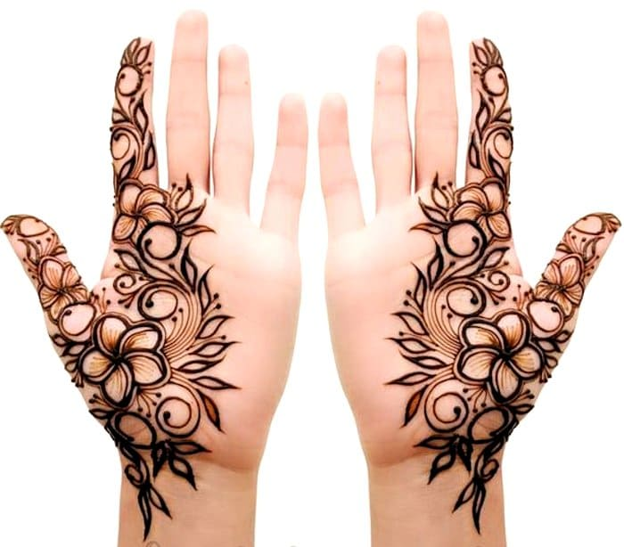 Top 111+ Simple & Latest Arabic Mehndi Designs for Hands & Legs