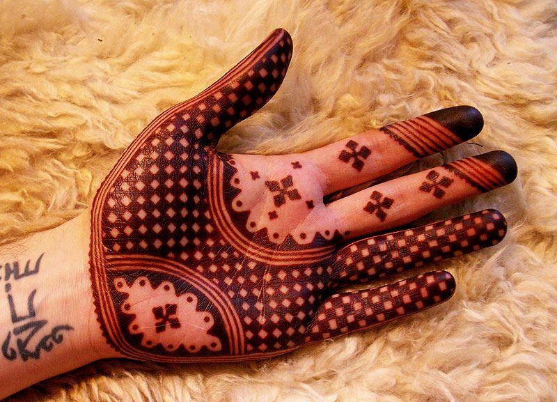 Best Moroccan Mehandi Design