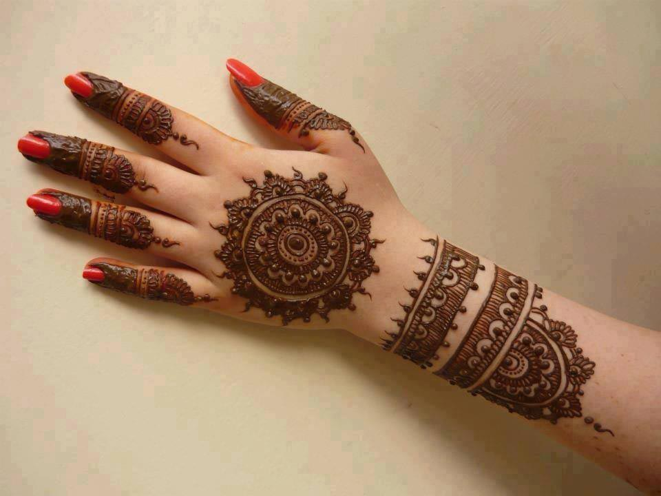 arabic bridal mehandi designs