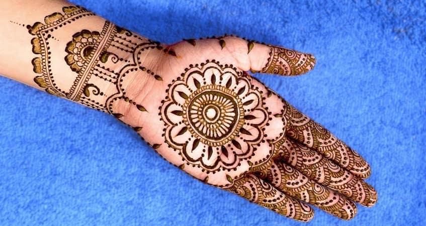 full hand mehandi designs gallery
