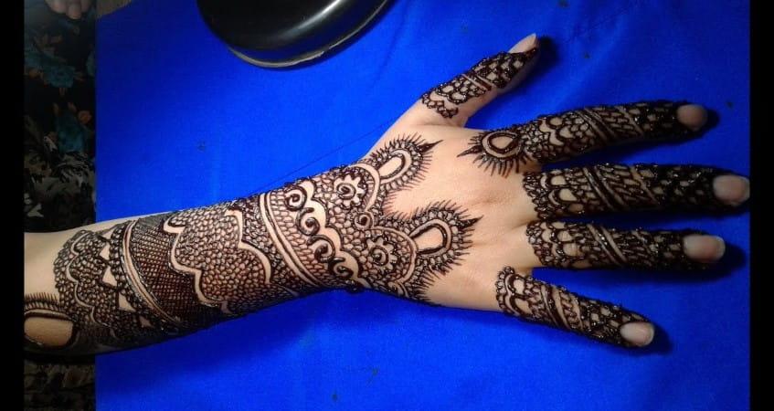 latest mehandi design beautiful mehndi designs